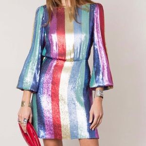 Rixo London sequin dress M